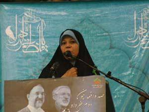 فائزه هاشمی: انقلاب مخملی همان اصلاح طلبی است