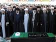 رهبر معظم انقلاب بر پیکر آیت الله مهدوی کنی نماز اقامه کردند
