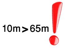 وقتی ۱۰ میلیون از ۶۵ میلیون بزرگتر است!
