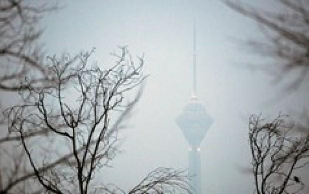 آلودگی هوای تهران به حد اضطرار رسید