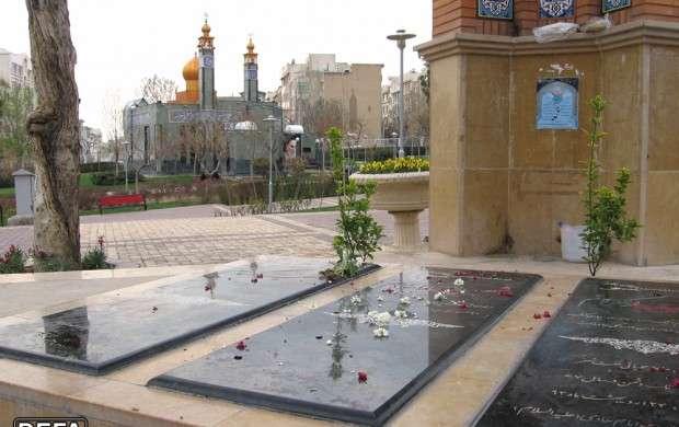 اقدام ضدفرهنگی شهرداری تهران در مزار شهدای گمنام