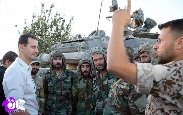 بشار اسد، اسرائیل را تهدید به حمله موشکی کرد
