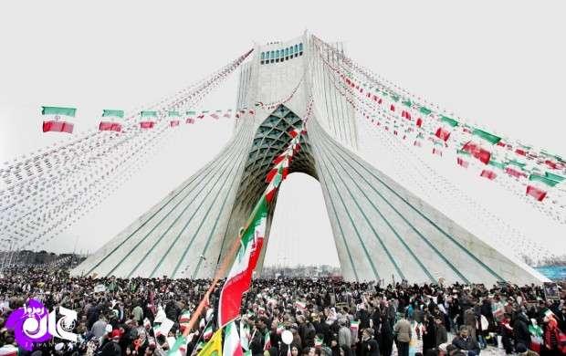 اعلام مسیرهای دهگانه راهپیمایی ۲۲ بهمن