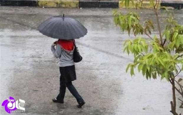 گستره سامانههای بارشی در ایران