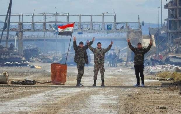 فوری/ارتش سوریه غوطه شرقی را آزاد کرد