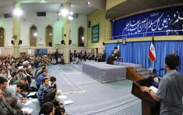 روایتی از شوق دیدار دانشجویان کرمانی با رهبری