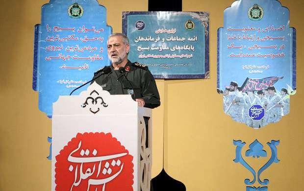 نظام جمهوری اسلامی وابستگی جدی به بسیج دارد