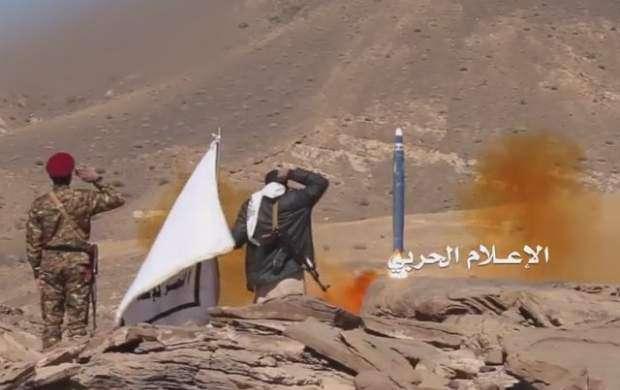 شلیک موشک به سمت مواضع ائتلاف سعودی