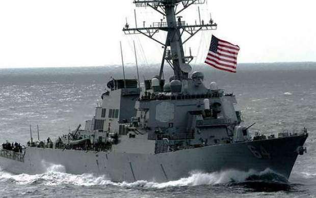 ناوشکن آمریکایی وارد دریای سیاه شد