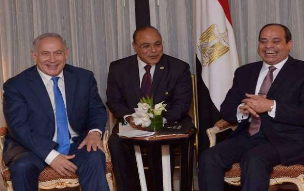 نشست مخفیانه نتانیاهو و السیسی درباره غزه
