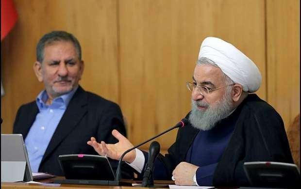 روحانی: مشکل اقتصادی با بگیر و ببند حل نمیشود