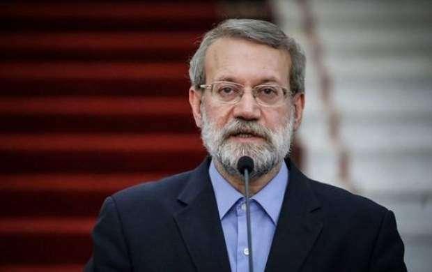 ارتباط علی لاریجانی با این حزب چیست؟ +جزئیات