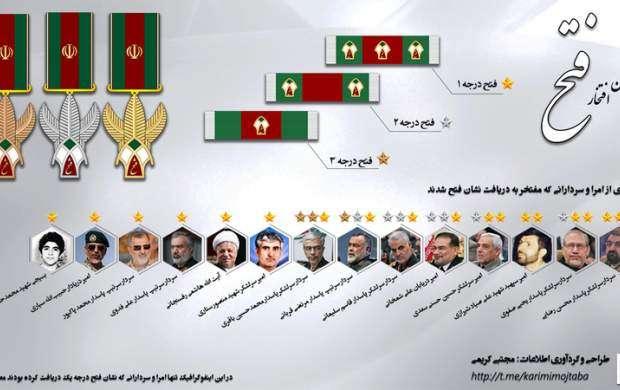 با نشان فتح بیشتر آشنا شوید +تصاویر
