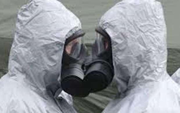 تصویربرداری تروریستها از حمله شیمیایی ساختگی