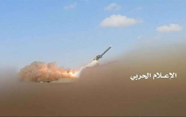 شلیک موشک بالستیک به پادگان متجاوزان سعودی