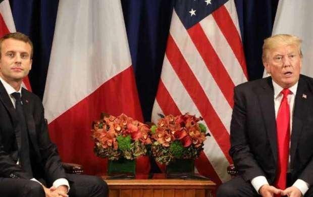 ترامپ و ماکرون در نیویورک دیدار کردند