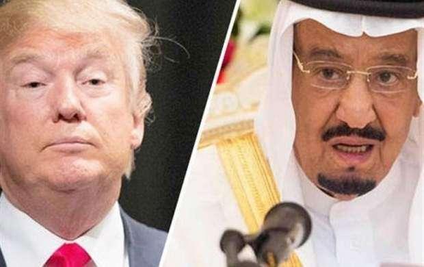 ترامپ دوباره شاه سعودی را تحقیر کرد