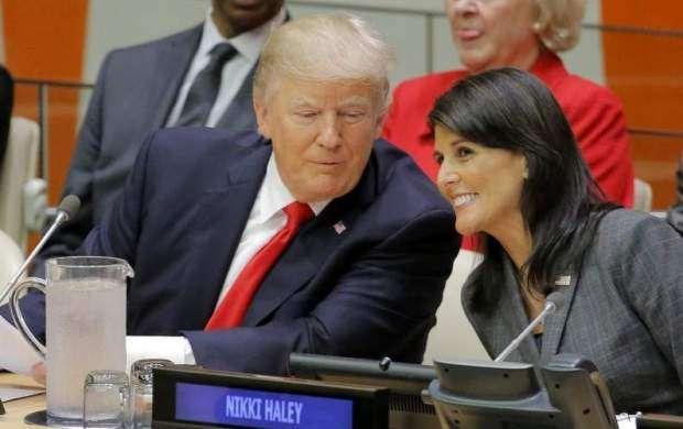 ترامپ و شکار نیکی هیلی