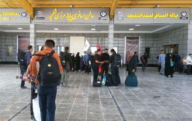 امکان خروج زائران اربعین با اتوبوسهای ایرانی