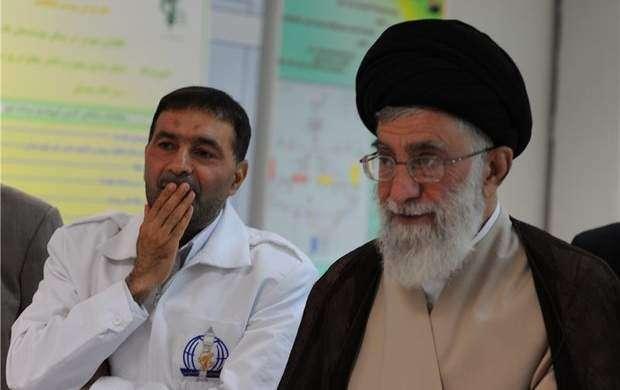 عکس/ دستنوشته رهبری در تقدیر از شهید طهرانی