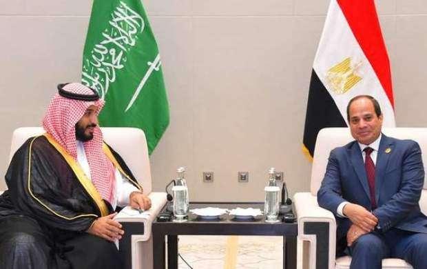 آنچه السیسی در دیدار با بن سلمان گفت