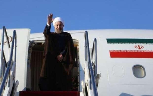روحانی به دعوت اردوغان عازم ترکیه شد