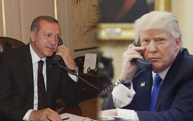 گفتگوی تلفنی ترامپ با اردوغان درباره سوریه