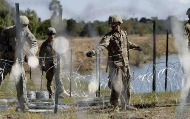 پنتاگون ۱۰۰۰ سرباز دیگر به مرز مکزیک اعزام میکند