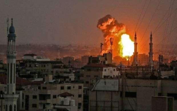 رژیم صهیونیستی باردیگر نوار غزه را هدف قرار داد