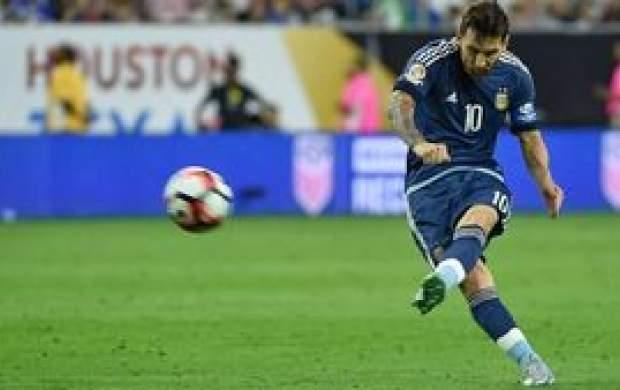 مسی سکوتش درمورد تیم ملی را شکست
