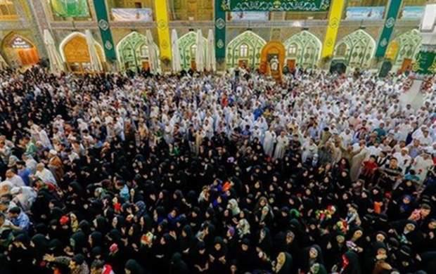 مراسم سوگواری شهادت امام علی(ع) در نجف