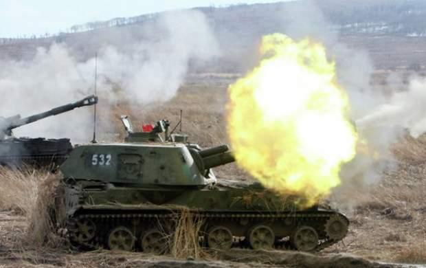 حمله ارتش سوریه به مواضع تروریستها