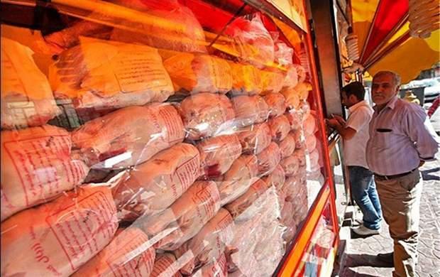 افزایش ۱۵۰ تومانی نرخ مرغ در بازار