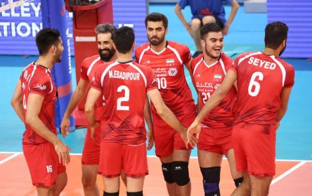 گروه ایران در لیگ جهانی والیبال مشخص شد