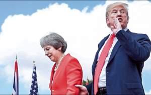ترامپ: نخست وزیر انگلیس و سفیرش احمقند!