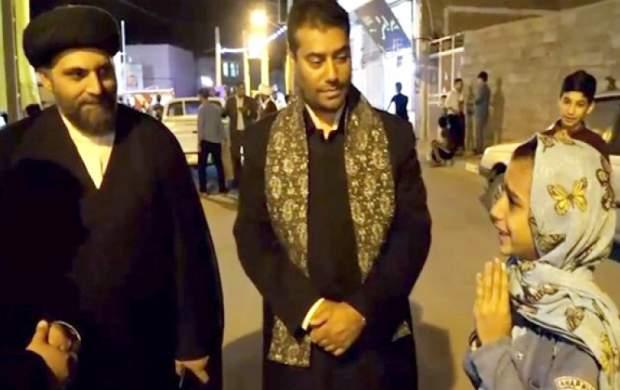 فیلم/کار زیبای خدام امام هشتم برای یکدختر