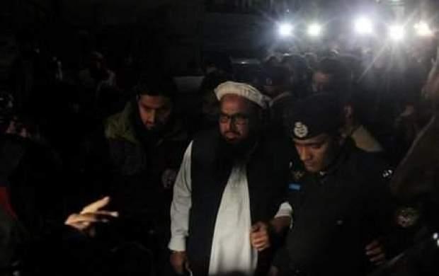 بازداشت موسس لشکر طیبه در پاکستان
