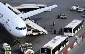 فرود اضطراری هواپیمایماهان در فرودگاه مشهد