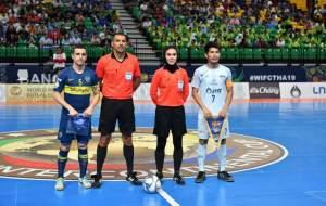 داور ایرانی در فینال باشگاههای جهان