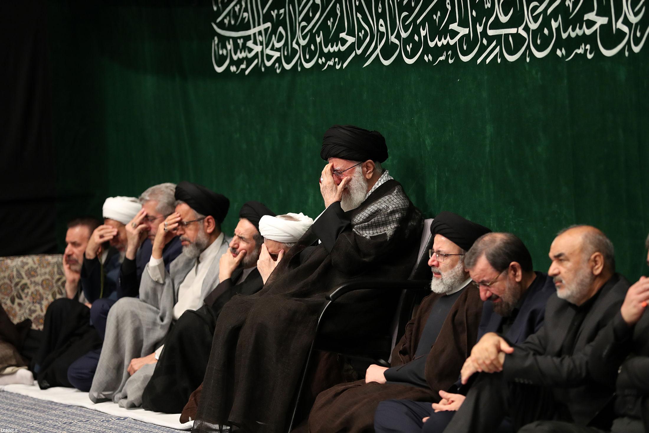 مراسم محرم 1400 بیت رهبری