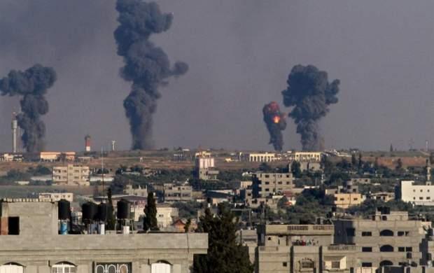 جنگندههای اسرائیل غزه را بمباران کردند