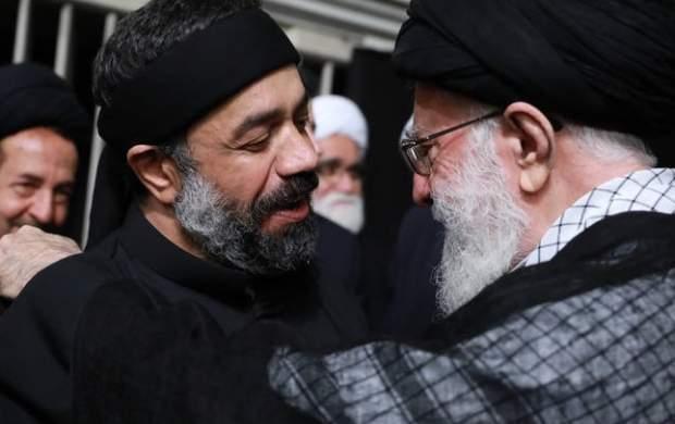 تقدیر رهبری از چهارپایهخوانی محمود کریمی