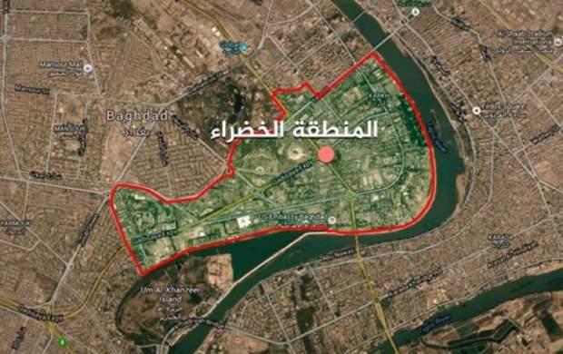 اصابت ۲ راكت به نزدیکی سفارت آمریکا در بغداد