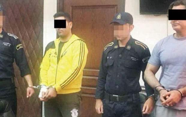 عاملان قتل وحید مرادی در ایستگاه محاکمه