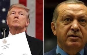 اردوغان نامه ترامپ را به زبالهدان انداخت