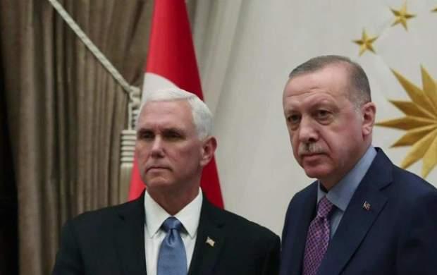 توافق اردوغان و پنس بر سر آتشبس موقت