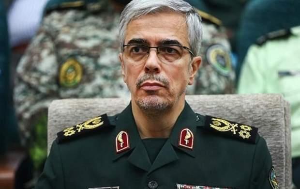 رئیس ستاد کل نیروهای مسلح: دشمنان از ما وحشت دارند
