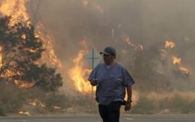 آتشسوزی در کالیفرنیا چهل هزار نفر را آواره کرد