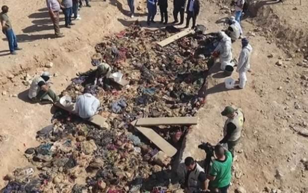کشف ۱۰ گور جمعی قربانیان رژیم صدام در عراق