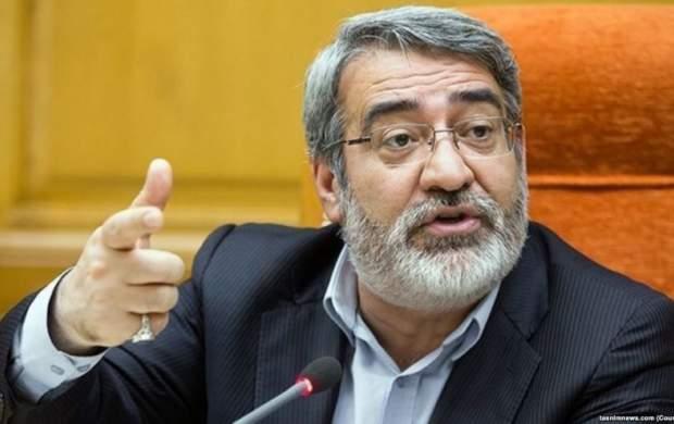 اظهارات عجیب وزیر کشور درباره گرانی بنزین!